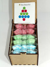 Bath Bombs Christmas Gift Box - 30 x 10g Flowers by Bee Beautiful
