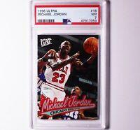 1996 Fleer Ultra  Michael Jordan #16 NM PSA 7 Chicago Bulls HOF Basketball Card