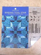 Binding Tool TQM & Binding Tool Star Quilt Pattern USA by Missouri Star Quilt Co