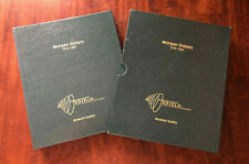 INTERCEPT SHIELD MORGAN SILVER DOLLARS ALBUM w/ SLIPCASE for 1878-1890  #A-0120