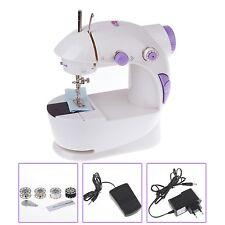 Mini Haushalt Handnähmaschine Elektrische Nähmaschine mit Lichter + Fußpadel
