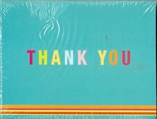 Generic Thank You Cards Notes 10 Pack Blank Party Birthday Greeting