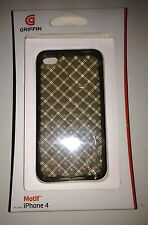 Brand New Griffin Motif Protective Case for iPhone 4 Clear Diamond Patterned