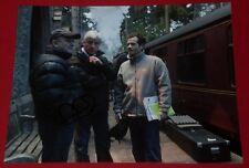 DAVID HEYMAN SIGNED  POTTER PRODUCER RARE TRAIN STATION SET PHOTO AUTOGRAPH COA