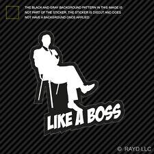 Like A Boss Sticker Decal Self Adhesive Vinyl jdm euro