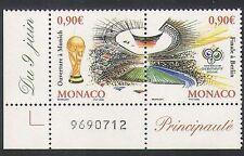 MONACO 2006 Coppa del Mondo di Calcio// WC/Calcio/Stadium/Sport/Giochi S-T PR (n36416)