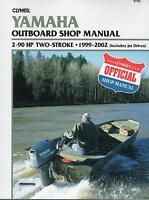 1999-2002 CLYMER YAMAHA 2-90 HP TWO STROKE SERVICE SHOP MANUAL   B786  (877)