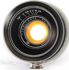 Jupiter-12 2.8/35mm Lens based on ZEISS Biogon 2.8/35mm for Kiev Contax II III