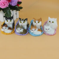 Cute Slipper Cat Kitten Plush Doll Toys W/ Sound Stuffed Animal Baby Kids Gift