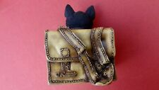 Cat In A Bag Ornament Mischief Maker By The Leonardo Collection *CUTE AS CAN BE*