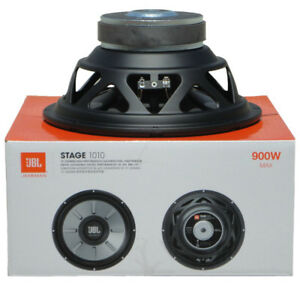 """1 Caisson JBL Stage 1010 STAGE1010 25 CM 250 MM 10 """" 225 Watts RMS 900 Max Watts"""