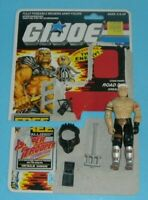 1988 GI Joe Cobra Road Pig Dreadnok v1 Figure w/ File Card Back *Complete