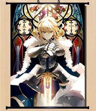 """8""""*12"""" Home Decor Japanese Anime Fate Zero Cosplay Wall Poster Scroll 031"""