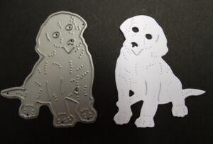 Britannia Dies - Labrador Puppy / Card Making Scrapbooking Metal Cutting Die Dog
