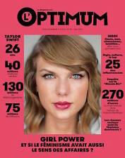 L'optimum Magazine May 2016 Taylor Swift NEW