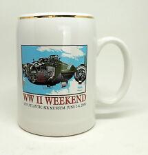 WW II WEEKEND Mid Atlantic Air Museum  2000 GIRL PIN UP Beer Stein Coffee Mug