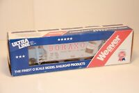 Weaver Ultra Line, Boraxo Hopper Car, 2-Rail, O-Gauge, C-9, NEW in BOX  /gn