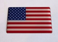 USA AMERICAN STARS AND STRIPES Sticker/Decal - WITH  HIGH GLOSS DOMED GEL FINISH