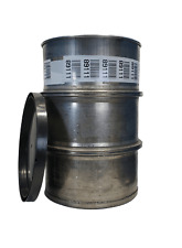 Used 55 Gallon Stainless Steel Barrel Drum Open Top 316 Sanitary 2