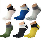 1Paar Neu Zehensneaker Zehensocken Sneaker Socken 5 einzelne Zehen Baumwolle Toe