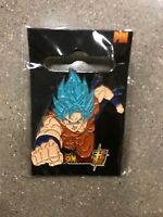 Dragon Ball Super Dbz Pin Blue Saiyan God Goku Enamel Anime Manga License Ur NEW