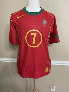 Portugal Luis Figo Limited Edition Nike Shirt LG Real Madrid Inter Milan  Jersey