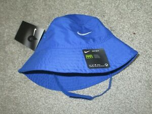 Nike Baby Bucket Hat with Strap Royal Blue 12-24 Months