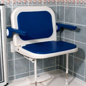 AKW 04140 - 04240 - 04140P - 04240P EXTRA WIDE 4000 SERIES SHOWER SEAT WITH LEGS