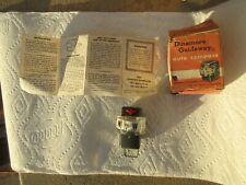 NOS Vintage Dinsmore Dash Mount Compass Accessory Chevy Ford Dodge Pontiac Buick