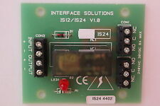 5 x Interface Solutions 24v Polarised Relays