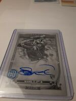 2020 Topps Gypsy Queen Taylor Ward Rookie Card Autograph /50 Black and White