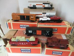 LIONEL CONVENTIONAL CLASSICS - 38324- #2507W NEW HAVEN F-3 FREIGHT SET - BXD
