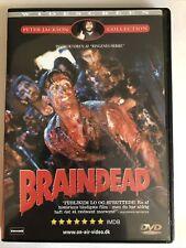 Braindead aka Dead Alive (DVD, 2002, Widescreen, Region 2) Red Letter Edition