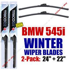 WINTER Wiper Blades 2pk Super-Premium fit 2004-2006 BMW 545i 35240/220