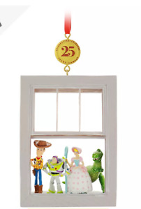 BNWT Shop Disney Store 25 Years TOY STORY Legacy Christmas Decoration Ornament
