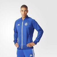 BRAND NEW $120 Adidas Chelsea FC Anthem Jacket Chelsea Blue White AC6409