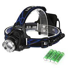 HL1 Aglaia Stirnlampe  mit 3  Modus,Zoombare Fokus mit CREE Original T6 led