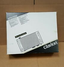 Clarion APA2100 2-Channel Amplifier NEW in OEM Box with Owners Manual