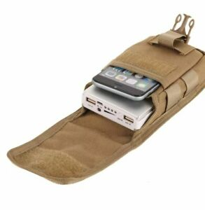 Small khaki tactical Pouch