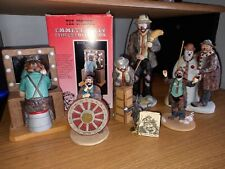 Collection of 7 Emmett Kelly Figurines