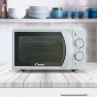 Candy CMG2071M Mikrowelle 700W mit Grill 900W, 20 L, weiß Timer 9 Programme