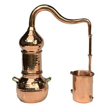 Small Expandable Alembic Whiskey Still - Half Liter Copper Distillery .5 Liter /