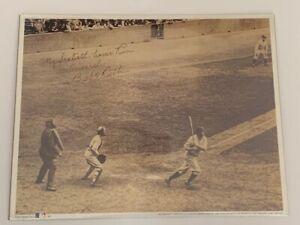 Babe Ruth 60th Home Run Poster Print Sealed 11x14