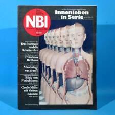 DDR NBI 49 1988 WBK Rostock Bonsai Hygienemuseum Reichenbach Burg Ballhaus C