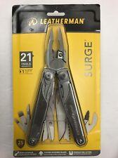 Leatherman SURGE Multi-Tools+Leather Sheath+21 Tools