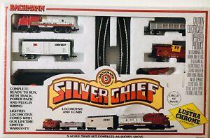 Bachmann N Scale Silver Chief Train Set 24310 Sealed Mint