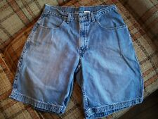 Levis Mens Size 32 (Actual 31x10) Carpenter Jean Shorts 100% Cotton