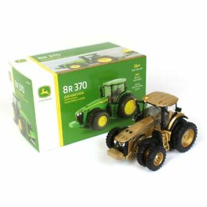 1/64 CHASE 2020 Farm Show John Deere 8R 370 w/ Front & Rear Duals 45749-Chase