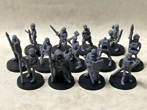 Skeleton warband for tabletop & roleplaying games