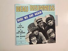 "BEAU BRUMMELS: Here We Are Again +3-France 7"" 66 Warner Bros. Records EP.112 PCV"
